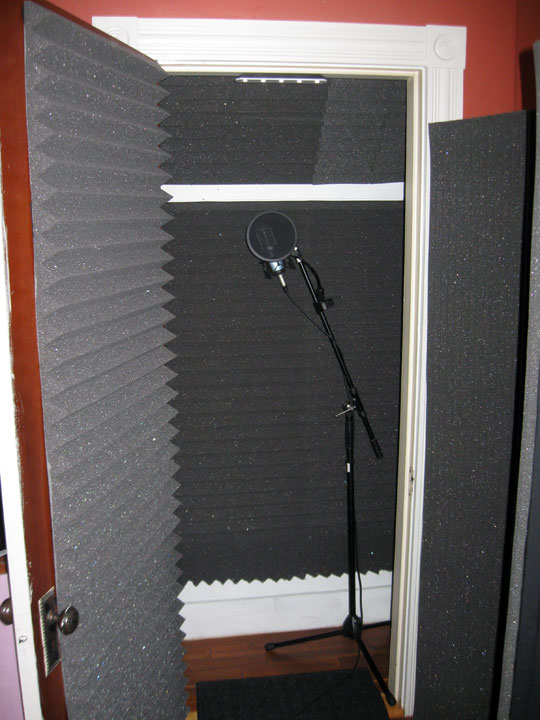 Diy Recording Booth Closet